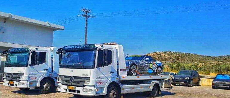 Αγορά δύο φορτηγών mercedes