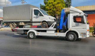 Μεταφορές φορτηγών έως 7 τ.